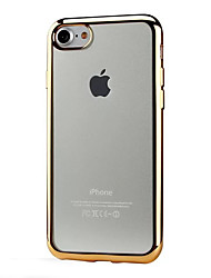 economico -Per iPhone X iPhone 8 iPhone 7 iPhone 6 iPhone 6 Plus Custodia iPhone 5 Custodie cover Placcato Transparente Custodia posteriore Custodia