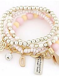 Wrap Bracelets 1pc, Bracelet Fashionable Round 514 Alloy Jewellery