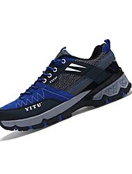 Femme-Extérieure / Sport-Bleu / Jaune / Vert / Rouge / Orange-Talon Plat-Bout Arrondi-Sneakers-Tulle