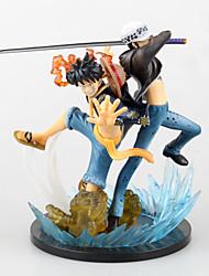 billiga -Anime Actionfigurer Inspirerad av One Piece Monkey D. Luffy 16 cm CM Modell Leksaker Dockleksak