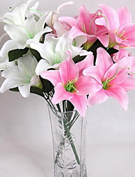economico -La decorazione serigrafica del fiore del giglio del profumo d'imitazione alta 4clor della decorazione della casa