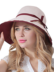 Da donna Estate Cotone Casual Cappello da sole