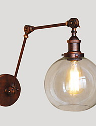cheap -Wall Sconces / Swing  Lights / Reading Wall Lights Crystal / Mini Style Rustic/Lodge Metal