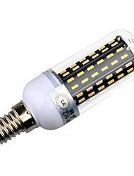 billige -5000/3300lm E14 E26 / E27 LED-kolbepærer T 96 LED Perler SMD 4014 Dekorativ Varm hvid Naturlig hvid 220-240V