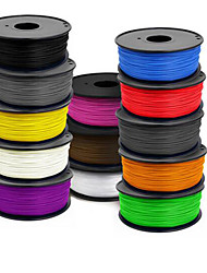 cheap -400(m) 3 D Printer Supplies 1.75 Mm Abs 1 Kg Of A Roll  ,1.0(g/cm3),Random Color