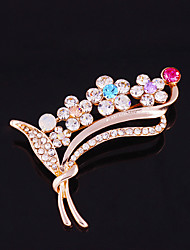 Недорогие -одна часть / розовое золото модные броши классический женственный стиль