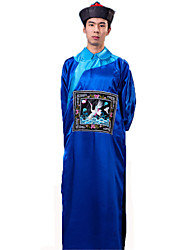 cheap -Zombie Cosplay Costume Party Costume Men's Halloween Festival / Holiday Halloween Costumes Black Yellow Red Blue Solid Colored