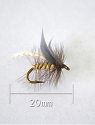 """1 pc Esca Esche rigide Grigio g/Oncia,20 mm/<1"""" pollice,Plastica morbida Pesca a mulinello"""