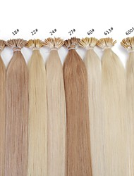 Neitsi 20inch Remy Hair  25g/lot  Keratin Fusion I Tip Hair Extension