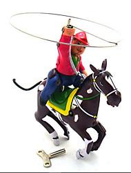 Недорогие -Игрушка с заводом / Ролевые игры Оригинальные Воин / Лошадь Металл Винтаж 1 pcs Куски Подарок