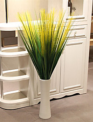 cheap -Hi-Q 1Pc Decorative Flower Reed Grass Wedding Home Table Decoration Artificial Flowers