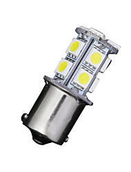 cheap -2 X White 1156 BA15S 13-SMD 5050 LED Light bulbs Turn Signal Backup Reverse