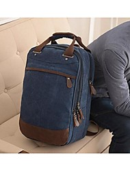 cheap -Men Bags Canvas Backpack for Sports Outdoor Coffee Blue Khaki Royal Blue