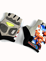 cheap -Cycling Gloves/Bike Gloves Kid's Fingerless Gloves Anti-skidding Shockproof Protective Canvas Cycling/Bike Summer