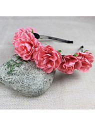 cheap -Material / Fabric Headbands / Headpiece with Flower Wedding / Party / Special Occasion Headpiece