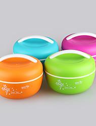Yooyee BPA Free Microwave Bento Box Lunch Bowl with Handle