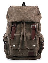cheap -Women Bags Canvas Backpack for Casual Outdoor Black Brown Blue