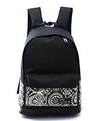 cheap -Women Bags Canvas School Bag for Casual Sports Outdoor All Seasons White Rainbow