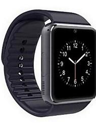 abordables -Hombre Reloj elegante Pantalla Táctil / Despertador / Calendario Caucho Banda Negro / Control remoto / Podómetros / Monitores para Fitnes / Cronómetro