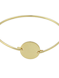 Gold Silver Color Thin Bracelets Bangles