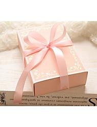 sous-vêtements vide ruban boîte de boîte de sous-vêtements roses