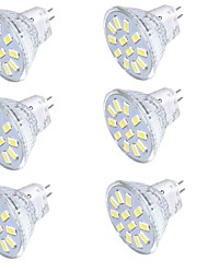 economico -GU4(MR11) Faretti LED MR11 15 leds SMD 5733 Decorativo Bianco caldo Luce fredda 350lm 3000/6000K 9-30V