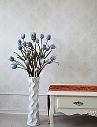 cheap -Hi-Q 1Pc Decorative Flower Tulips Flower Wedding Home Table Decoration Artificial Flowers