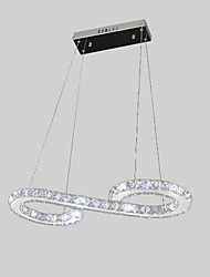 cheap -MAISHANG® Linear Pendant Light Ambient Light - Crystal, LED, 110-120V / 220-240V Bulb Included / 10-15㎡ / LED Integrated