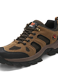 Da uomo-scarpe da ginnastica-Casual-Comoda-Piatto-Tessuto-Verde Grigio Kaki