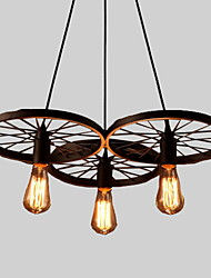 cheap -Chandelier Downlight - Mini Style, Rustic / Lodge Vintage, 110-120V 220-240V Bulb Not Included
