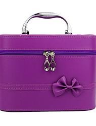 cheap -Women Bags PU Cosmetic Bag with for Casual Purple Fuchsia Blushing Pink