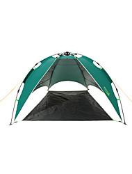 Makino 2 personnes Tente Double Tente de camping Une pièce Tente automatique Pare-vent Résistant aux ultraviolets Résistant à la poussière