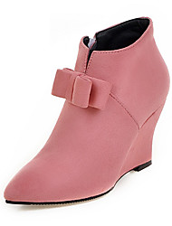 cheap -Women's Shoes Fall / Winter Wedges / Fashion Boots / Bootie / Pointed Toe Boots Office & Career / Dress / Casual Wedge