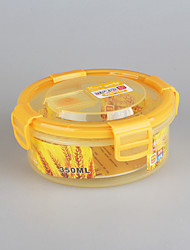 Small Plastic Round Container with Lid