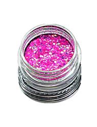 1 Bottle Nail Art Match Color Highlight Glitter Shining Colorful Powder Nail Makeup Beauty 08