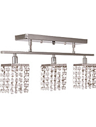 ieftine -Lightinthebox Montaj Flush Lumini Ambientale Crom Metal Cristal 110-120V / 220-240V / G9