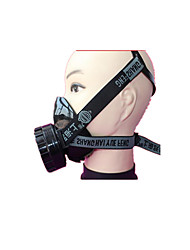 abordables -seul respirateur réservoir peinture masque professionnel petit, léger et pratique à porter au large