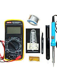 cheap -Free Shipping Spike 8 Set The Multimeter Soldering Iron Thermostat Home Repair Soldering Tool