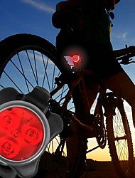 cheap -Bike Lights Rear Bike Light Front Bike Light LED - Cycling Warning Easy Carrying C-Cell 40 Lumens USB Everyday Use Cycling/Bike