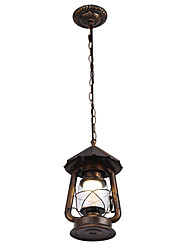 Rústico/Campestre Vintage Moderno/Contemporâneo Tradicional/Clássico Retro Lanterna Bateria Regional Luzes Pingente Para Sala de Estar