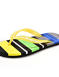 Unisex Sandals Summer Sandals Fabric Casual Flat Heel  Blue / Brown / Yellow / Green / Pink / Royal Blue