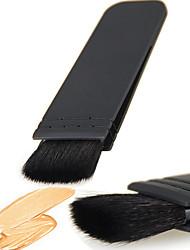 billige Rougebørster-1 Makeup børster Profesjonell Rougebørste / Concealer-børste / Pudderbørste Geitehår børste Bærbar / Reisen / Økovennlig Plast