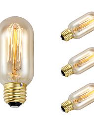 economico -la lampadina di decorazione della lampadina e27 ac220-240v del bulb dell'edizione del bulgaro di 4mm 38w 100lm t45