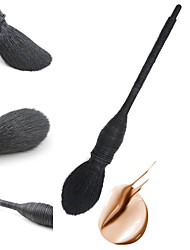 billige Foundationbørster-1 Makeup børster Profesjonell Rougebørste Foundationbørste Concealer-børste Konturbørste Pudderbørste Geitehår børste Bærbar / Reisen / Økovennlig Tre