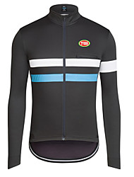 Sports Bike/Cycling Tops Men's Long Sleeve Antistatic / Windproof / Ultra Light Fabric / WarmLYCRA®