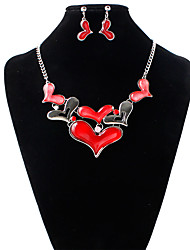 cheap -Women's Jewelry Set - Include Bridal Jewelry Sets Red / Blue For Wedding / Party