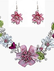 cheap -Women's Jewelry Set - Vintage, Fashion, Statement Include Necklace / Earrings Assorted Color For Wedding / Party / Daily