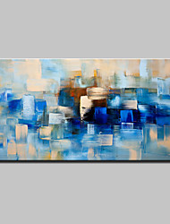 cheap -Hand Painted Modern Abstract Oil Painting On Canvas Wall Art Pictures With Stretched Frame Ready To Hang