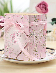 cheap -Cuboid Card Paper Favor Holder With Ribbons Bow Favor Boxes Gift Boxes-10