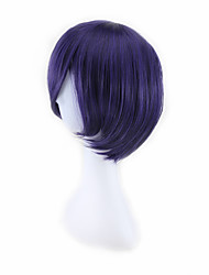 cheap -Costume Wigs / Synthetic Wig Straight Purple Men's / Women's Capless Men's wig Synthetic Hair